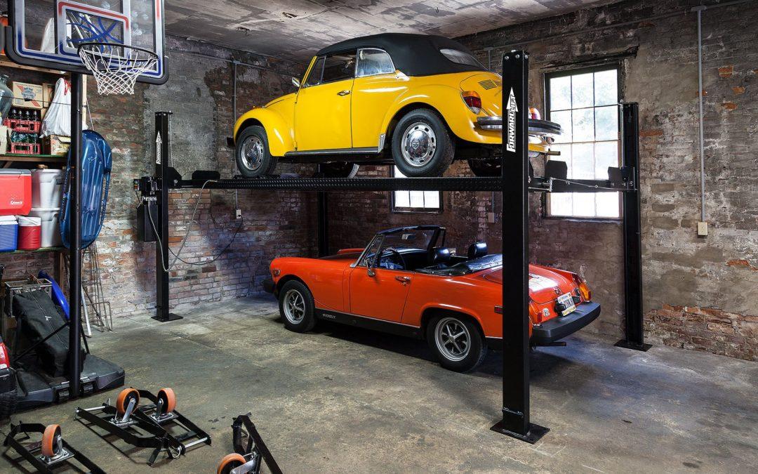 Same Home Garage. Twice the Parking.