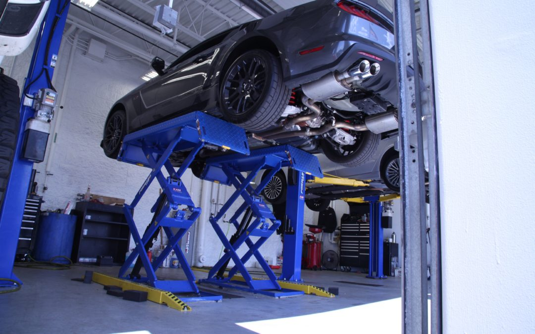 The Final Level for Your Garage? Up.